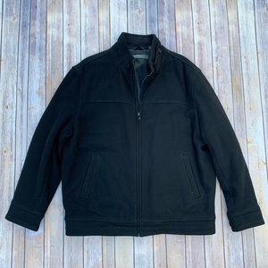 Perry Ellis Portfolio Black Coat